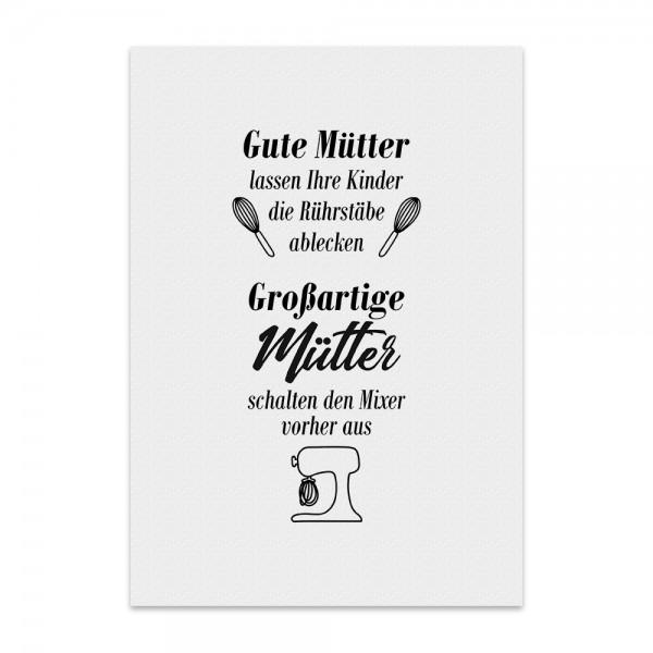 Kunstdruck, Poster - Gute Mütter